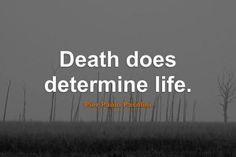 Famous Life Death Quotations Images