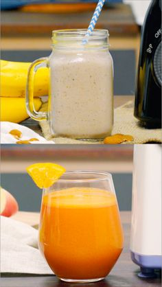 Healthy Juice Recipes, Healthy Diet Plans, Lassi Recipes, Smoothie Recipes, Yummy Drinks, Yummy Food, Smoothie Diet Plans, Slim Diet, Mini Foods