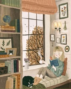 Winter Illustration, Drawings, Painting, Illustration Art, Art, Autumn Illustration, Artsy, Cute Drawings, Illustration Artists