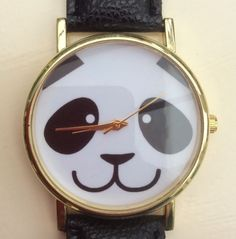 Black Faux Leather Strap Panda Women's Wristwatch #black #fauxleather #faux #panda #animals #women #ladies #watch #wrist #wristwatch #christmas #xmas #present http://m.ebay.co.uk/itm/Black-Faux-Leather-Strap-Quirky-Panda-Women-Wrist-Watch-Ladies-Xmas-Animals-/282164316791?nav=SELLING_ACTIVE