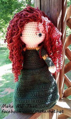 Crocheted Free Spirited Brave Scottish by MakeMeThatCrafts on Etsy, $45.00