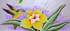 Arte * Vida: Lirio e Beija Flor