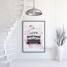 all you need is love fashion illustration print