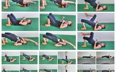 Glute Activation 15 Glute Bridge Variations and 2 Activation Series Posterior Chain Exercises, Back Exercises, Glute Activation Exercises, Glute Exercises, Bridge Workout, Glute Bridge, Boxing Workout, Pilates Workout, Home Exercise Routines