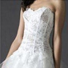 Vestido de noiva Cymbeline em renda francesa