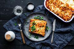 Vegane Lasagne Bolognese
