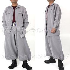 Toraichi 4309-143 Hiyoku open shirt  4309-418 Cho-cho long pants