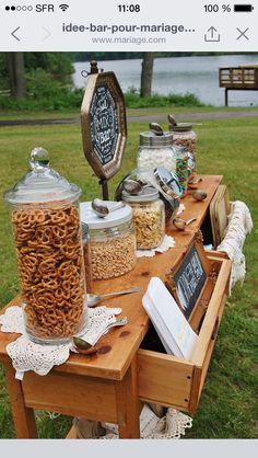 Cheese cracker table for wedding 50th ann popcorn solutioingenieria Gallery