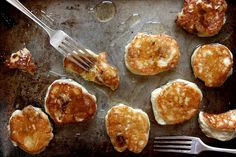 Vanilla Bean Pancakes With Maple Butter Pears Recipes — Dishmaps