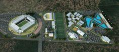 Complexo esportivo de 97 mil m² no Rio Grande do Norte