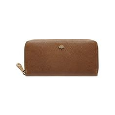 Marvellous Mulberry Gifts - Tree Zip Around Wallet in Oak Natural Leather  Mulberry Wallet 142b405a5ecdb