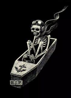 Thomas Ott, Black and White Skeleton Sketch Skeleton Bones, Skeleton Art, Skull And Bones, Memento Mori, Arte Horror, Horror Art, Psychobilly, Sketch Manga, Girl Sketch