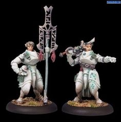 Privateer Press Warmachine - Retribution of Scyrah - Dawnguard Invictor Officer Model Kit