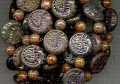 Combinations luster beads