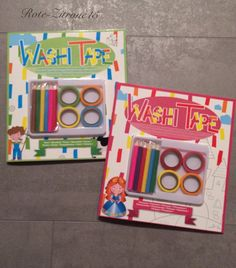 2 x Malbuch Washi Tape Mandala Ausmalen Motiv Stift Malen Advent Geschenk Buch  | eBay