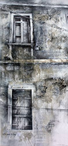 WHO: Ian Murphy Drawings WHAT: Scars of Life, Macau III WHY: I like the use of texture and tone to make the photo interesting. I also like the symmetry which creates a focal point Urban Landscape, Landscape Art, Journal D'art, Art Environnemental, Art Et Architecture, Newspaper Art, A Level Art, Gcse Art, Detail Art