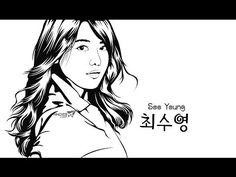 Line Art Photo with Adobe Illustrator ( FULL ) - YouTube