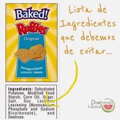 Diseñando tu Salud : Ingredientes que debemos evitar!