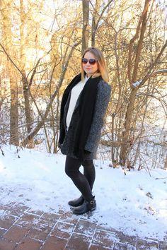 Orsay mantel mit wollanteil