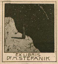 Ex-Libris-Czech-painter-Tavik-Frantisek-Simon-(1877-1942)