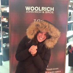 What does a parka make me feel? Frio polar, must have, hot #yubeloveswoolrich