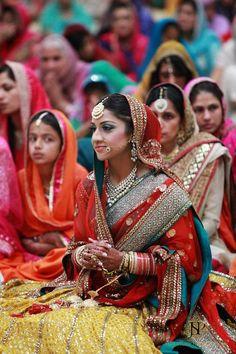 Sikh bride Rangla PUNJAB India