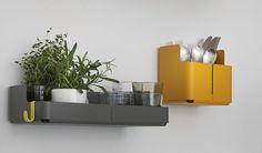 Steel wall shelf AITIO | Wall shelf - iittala