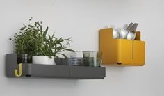 Steel wall shelf AITIO | Wall shelf - iittala