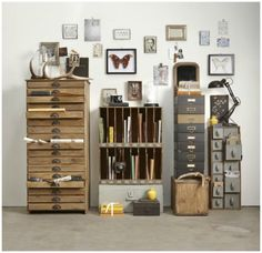 Hubsch Interior Occasions Range A/W 2012 has loads of great storage products for the home or office