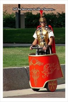 best way to ride a segway
