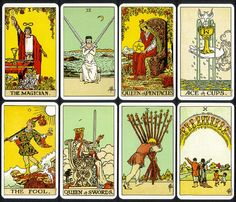 Rider-Waite Tarot Cards