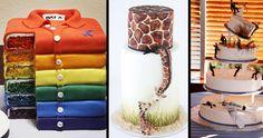 Hihetetlenül kreatív tortaformák Sweaters, Jackets, Fashion, Creative, Down Jackets, Moda, Fashion Styles, Sweater, Fashion Illustrations