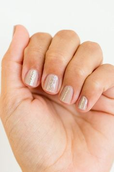 Nail Files: 3 Subtle and Sparkly Manicures (Lauren Conrad)