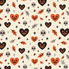 motif celebrating the scariest time of the year! A motif celebrating the scariest time of the year!, A motif celebrating the scariest time of the year! Halloween Vintage, Fete Halloween, Halloween Inspo, Halloween Patterns, Holidays Halloween, Spooky Halloween, Halloween Decorations, Halloween Cover Photos, Halloween Artwork