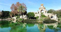 Brunnen des Parc de la Ciutadella