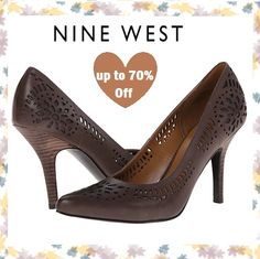 Modern muse, make a statement in the latest pumps, boots, heels up to 70% off #NineWest!