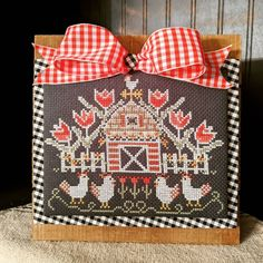Tulips, Cross Stitch Patterns, Crossstitch, Spring, Instagram, Country, Cross Stitch, Punto De Cruz, Seed Stitch