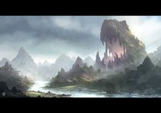 The Maw, Todor Hristov on ArtStation at https://www.artstation.com/artwork/the-maw-c0d656d8-cdda-4d08-b9da-75a061974266