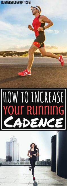 Want to become a faster runner? Then increase your cadence. In fact, if you're serious about becoming a better and faster runner, improving your running cadence is exactly what you need http://www.runnersblueprint.com/running-cadence/ #running #cadence