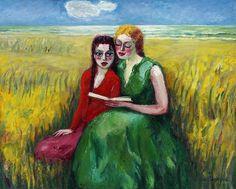 Kees van Dongen - Sur la dune (On the dunes), 1927-30