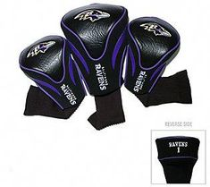 Bring your favorite football team to the fairway with these contoured, team-logo golf club headcovers. These NFL Contoured Golf Club Headcovers are designed to protect your club heads and includes nylon socks to help protect shafts from damage too. Nfl Seattle, Seattle Seahawks, Golf Club Sets, Golf Clubs, Golf Mk4, Golf Club Headcovers, Nfl Baltimore Ravens, Golf Head Covers, Perfect Golf