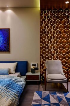 Home Decored Bedroom Master Simple Wall Colors 36 Ideas For 2019 Home Design Decor, Bed Design, Interior Design, Home Decor, Bedroom Furniture, Furniture Design, Bedroom Decor, Budget Bedroom, Dark Blue Bedroom Walls