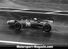 F1 1968, French GP, Pedro Rodriguez, BRM - Bild: Sutton