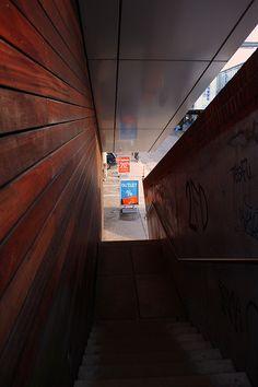 Im Treppenhaus // On the stairs // Dans le cage d'escalier