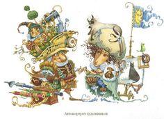 Иллюстрации Ольги Попугаевой и Дмитрия Непомнящего.: 18 тыс изображений найдено в Яндекс.Картинках