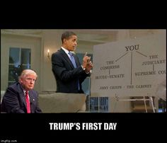 Trump's First Day