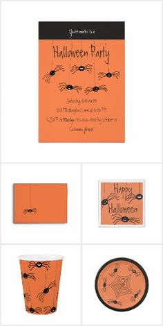 Wacky Spiders Halloween #creepyyetcute #halloween
