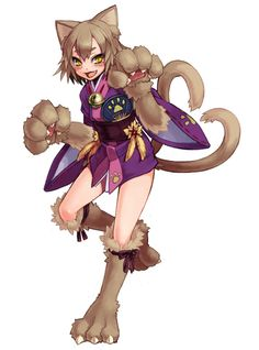 Nekomata by Gensokyo-man on DeviantArt
