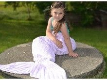 Meerjungfrauen Decke, in 12 Größen häkeln ++ Aquaria++