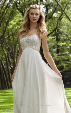 Mori Lee 6750 by Voyage by Mori Lee.  Chiffon gown with beaded bodice and lace up back.  $525
